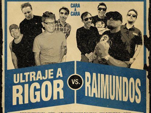 Ouça áudios exclusivos do disco em que Raimundos e Ultraje a Rigor tocam sucessos um do outro - O Globo