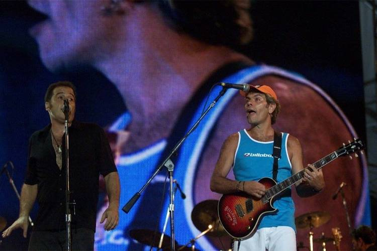 Ira! e Ultraje a Rigor em apresentação no Rock in Rio 2001